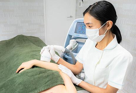 脱毛専門クリニックの技術