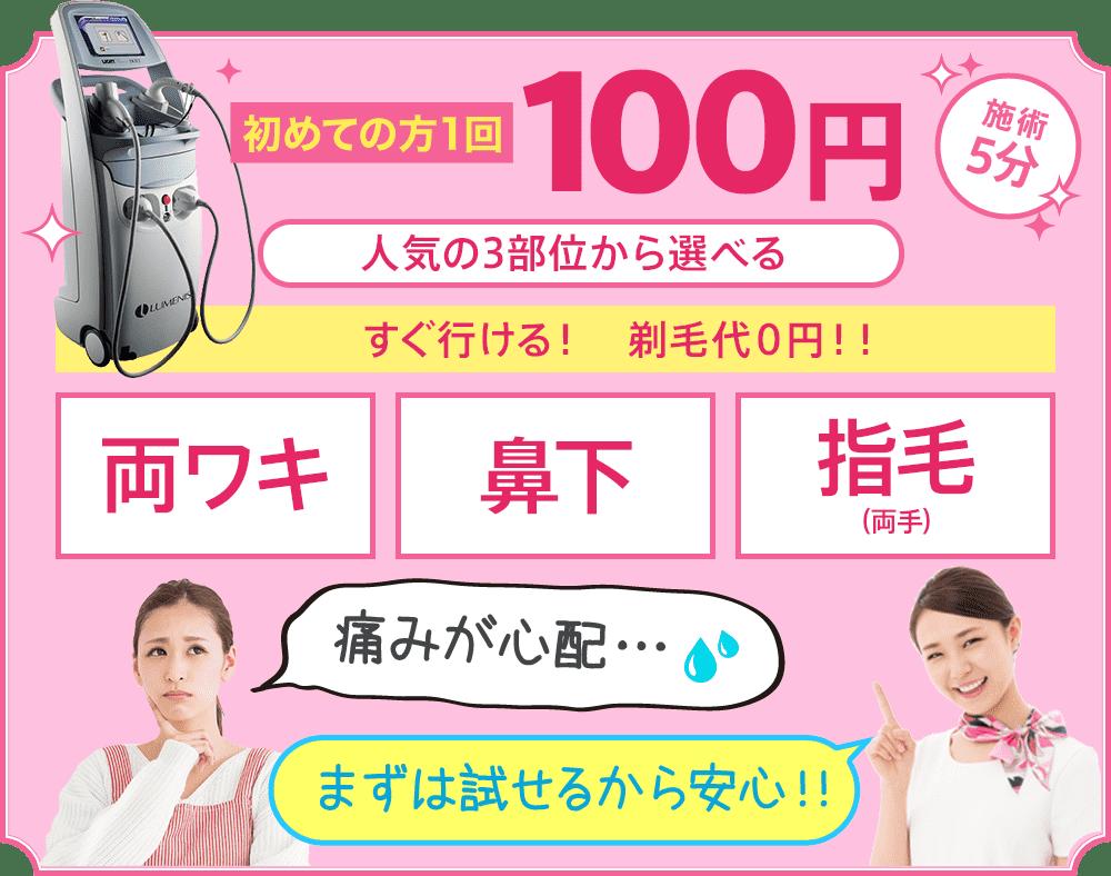 医療脱毛キャンペーン